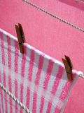 Washing line Royalty Free Stock Photo