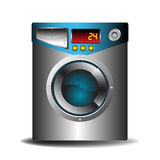 Washing machine. Colorful washing machine isolated on white background Royalty Free Stock Photography