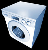 WASHING MACHINE. Washer was modeled on 3D MAX Royalty Free Stock Photo
