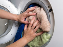 Washing machine Royalty Free Stock Photography