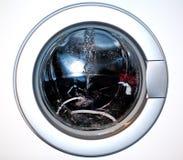Washing machine. The door of a washing machine Royalty Free Stock Image