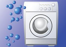 Washing machine. Stock Photography