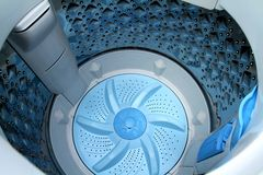 Washing Machine. Stock Photo