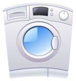 Washing machine. Illustration of a washing machine royalty free illustration