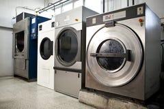 Washing machine. Industrial washing and dyeing machine stock photo