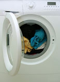 Washing machine. Royalty Free Stock Image