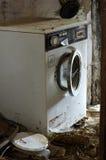 Washing machine broken Royalty Free Stock Photography