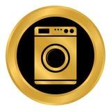 Washing machine button. Stock Photography