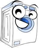 Washing machine cartoon illustration isolated Royalty Free Stock Photography