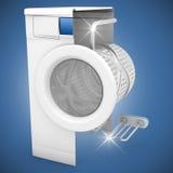 Washing machine clean Royalty Free Stock Images