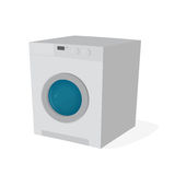 Washing machine clipart. Clipart of a washing machine Royalty Free Stock Photography