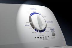 Washing Machine-Closeup-Main Dial Stock Photography