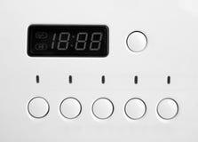 Washing machine control panel Stock Photo