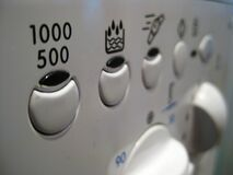 washing-machine-control-panel Royalty Free Stock Image