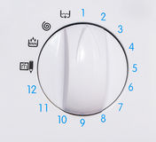 Washing machine control panel Royalty Free Stock Images