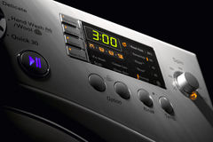 Washing machine control pannel Royalty Free Stock Photos