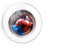 Washing Machine Copy Space Royalty Free Stock Photo