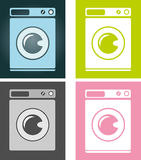 Washing machine. Royalty Free Stock Photography