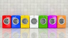 Washing machine Stock Image