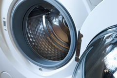 Washing machine detail Royalty Free Stock Photography