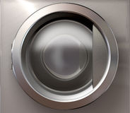 Washing Machine Door Stock Image