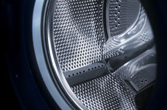 Washing machine drum interior Royalty Free Stock Photos