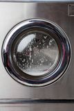 Washing Machine With Foam On Front Load Stock Photos