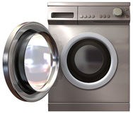 Washing Machine Front Door Open Royalty Free Stock Photo