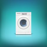 Washing machine . Royalty Free Stock Image