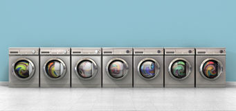 Washing Machine Full Single Royalty Free Stock Images