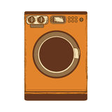 Washing machine icon image Royalty Free Stock Photography