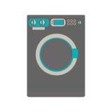 Washing machine icon image Royalty Free Stock Image