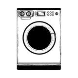 Washing machine icon image Stock Photo