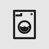 Washing machine icon Stock Photos