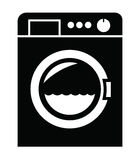 Washing machine icon Royalty Free Stock Image