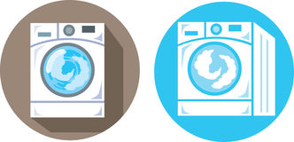 Washing Machine icons Stock Images