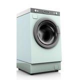 Washing machine. Illustration, washing machine on a white background Stock Photography