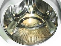 Washing machine interior view Royalty Free Stock Images
