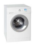 White washing machine Royalty Free Stock Photo