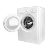 Washing machine isolated. On white background Royalty Free Stock Image