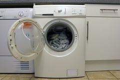 Open Washing Machine Stock Images