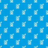 Washing machine pattern vector seamless blue. Repeat for any use Stock Photography