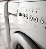 Washing machine saving energy with a quick wash Stock Image
