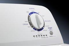 Washing Machine-Select Knob Stock Photo