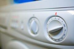 Washing-machine - switc giratório foto de stock royalty free