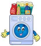 Washing machine theme image 2 Stock Images