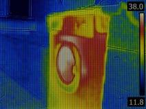 Washing Machine Thermography Stock Photo