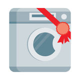 Washing machine Vector Illustration in Flat Design Stock Photo