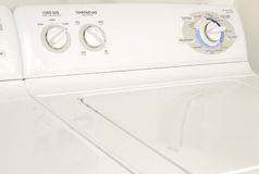 Washing machine or washer and dryer Royalty Free Stock Photo
