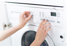 Washing Machine Stock Image